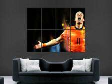 ARJEN ROBBEN HOLLAND  FOOTBALL SOCCER WORLD CUP LARGE PICTURE POSTER GIANT