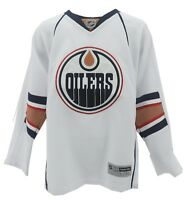 Youth Size Edmonton Oilers L/XL official NHL Reebok Jersey New with Tags