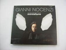 GIANNI NOCENZI - MINIATURE - CD SIGILLATO DIGIPACK 2016 - BANCO