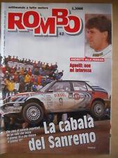 ROMBO n°42 1991 Lancia Delta HF Integrale Rally di Sanremo   [P67]