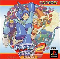 USED PS1 PS PlayStation 1 Rockman 2 mystery of Dr. Wiley