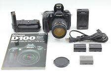 [EXC+5] Nikon D100 BODY AF Nikkor 35-70mm f/2.8 MB-D100 battery SET