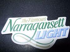 NARRAGANSETT Light Gansett STICKER decal craft beer brewing brewery