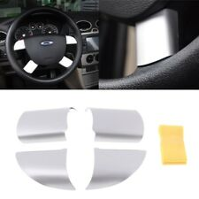 For Ford Focus 2 MK2 2005-2013 Interior Car Steering Wheel Cover Stainless Steel