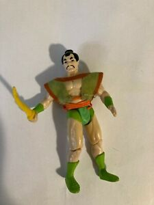 Vintage 1986 Kenner Super Powers Samurai-Rare All Original Pieces/tunic