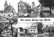 AK, Barth Kr. Ribnitz-Damgarten, fünf Abb., u.a. Dammstr., 1977