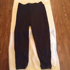 A4 pants softball baseball Size medium black womens ladies sports