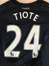 NEWCASTLE CHEICK TIOTE MATCH WORN SIGNED SHIRT PREMIER LEAGUE 2013/2014