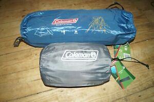 Super lightweight Coleman 2 Person Tent + Touring mat back packing, motorbike
