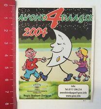 Aufkleber/Sticker: Avond 4 Daagse 2004 - Regio Brabant-Zeeland (210316114)