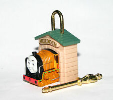 Yujin Thomas & Friends figure Padlock & key gashapon - Murdoch (one figure)