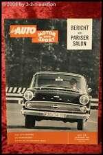 AMS Auto Motor Sport 22/59 Fiat 2100 Ford Taunus 17 M