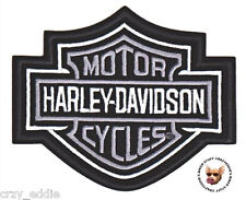 HARLEY DAVIDSON CLASSIC BAR & SHIELD SMALL VEST PATCH  **MADE IN USA **