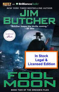Fool Moon  Audio Book - Jim Butcher - Dresden Files CD