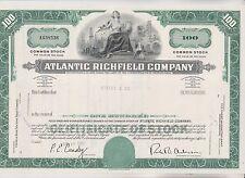 1968 ATLANTIC RICHFIELD COMPANY STOCK CERTIFICATE  - PENNSYLVANIA