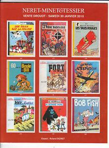 Catalogue Vente aux Enchères BD Drouot 30 Janvier 2010