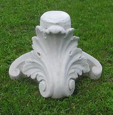 Fleur De Lis Corinthian Pedestal Stand Latex Fiberglass Production Mold Concrete