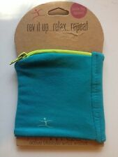 Fit Wrist by Fitkicks Stretchy Zipper Workout Wallet FitWrist Green NEW