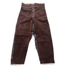 Welding Clothing Flame Retardant Cowhide Leather Welder Protective Suit