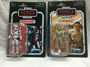 Star Wars. The Vintage collection. Rey Jakku & First Order Stormtrooper.