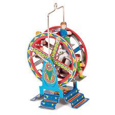 Traditional Ferris Wheel Tin Toy Wind Up Fairground Fun Fair Kids Christmas Gift
