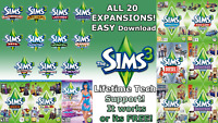 The Sims 3 Complete Collection - ALL EXPANSIONS Windows DOWNLOAD LINK!