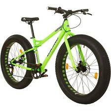 Fatbike 26 Zoll Mountainbike MTB Galano Fatman Hardtail NEONGRÜN B-Ware