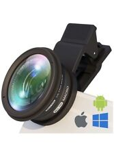 Phone Camera Lens Attachment: Professional Wide Angle and Macro Lens w/UV Easy -