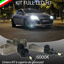 kIT FULL LED RENAULT MEGANE 3 III LAMPADE LED H7 6000K XENON BIANCO NO AVARIA