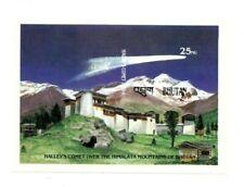 Bhutan 1986 572 - Halley's Comet - Souvenir Sheet - IMPERF - MNH