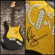 GFA Bon Jovi Guitarist * RICHIE SAMBORA * Signed Gold Electric Guitar COA