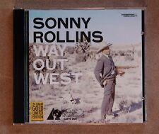 Sonny Rollins - Way Out West / Analogue Productions 24 Karat Gold Disc Ltd Edit.