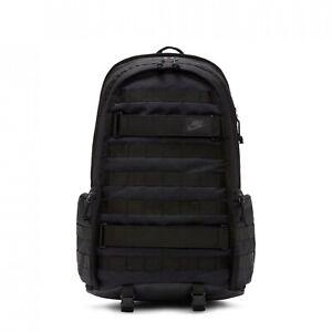 Nike SB RPM Skateboarding Backpack Bag Triple Black BA5971-014