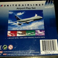 United Airlines airport play set 6261d
