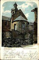Hildesheim Niedersachsen AK 1901 Dom Kloster Kirche Abtei Kathedrale Rosenstock