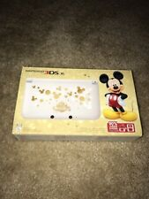 New Nintendo 3DS XL Disney Magical World Special Mickey Mouse Limited Edition