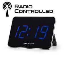 Precision Digital radio controllato sveglia con big LED blu garanzia di 2 anni