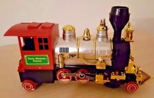 "NEW ROCKY MOUNTAIN BATTERY OPERATED TRAIN LOCOMOTIVE BUMP AND GO ACTION 9"" LONG"