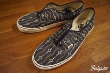 Vans Authentic Blue Mens Shoes Size UK 10.5 Indigo Mood Blanc De Blanc