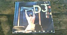 "DAVID BOWIE D.J. RCA VICTOR 1st UK PS 45 7"" 1979 The Lodger Brian Eno A2/B2"