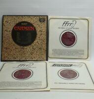 Bizet Carmen 3x LP Box Richmond London RS 63006 Wolff Juyol De Luca inc UK P+P