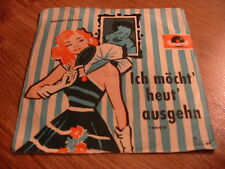 Vinyl7inch Margot Eskens Ich möcht`heut ausgehn German Press (RARES COVER) Gut