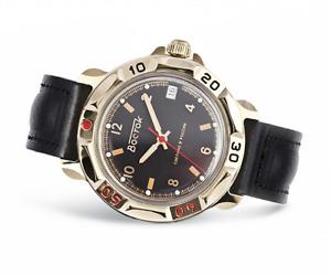 Vostok Komandirskie 2414/819326 Uhr 17 Jewels Mechanische Herren Sowjetisch Uhr