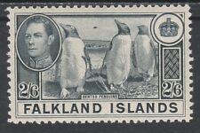 FALKLAND ISLANDS 1938 KGVI PENGUINS 2/6