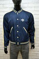 LONSDALE Uomo Giacca Giubbino Taglia M Cappotto Giubbotto Jacket Vintage Blu