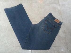 LEVI'S 518 Super Low Boot Cut Jeans , size 12 UK , 30W 31L