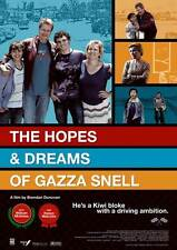 THE HOPES & DREAMS OF GAZZA SNELL Movie POSTER 27x40