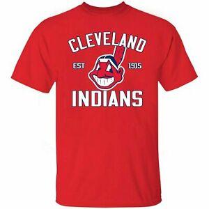 HOT!!! New Cleveland Indians MLB Baseball Est 1915 Forever T-Shirt Unisex Gift
