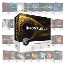 Native Instruments Komplete 7 Update Software-Downloads