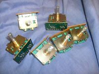 6 Lot Pulsar Controls switches NOS from Radio estate PC-192AA  control /f8